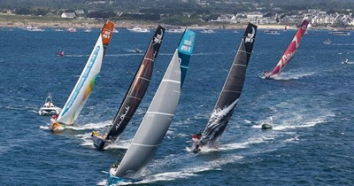 Volvo Ocean Race arrives in Cape Town's V&A Waterfront